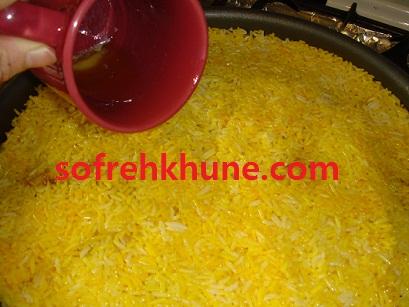 آشپزی - انواع ته چین